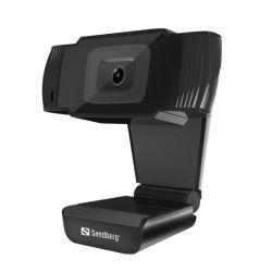 Sandberg USB Webcam, 480p, Mic, Auto Light Correction, 30� Rotatable, 5 Year Warranty