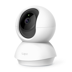 TP-LINK TAPO C210 PanTilt Home Security Wi-Fi Camera, 3MP, Night Vision, Alarms, Motion Detection, 2-way Audio