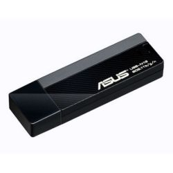 Asus USB-N13 300Mbps Wireless N USB Adapter, WPS, AP Mode