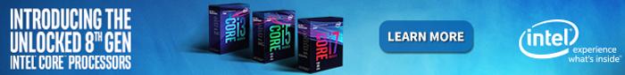 Intel 8th Gen Unlocked